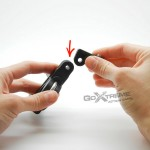 GoXtreme Bike mount T tip + 1/4""