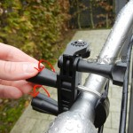 Bike mount T tip + 1/4""