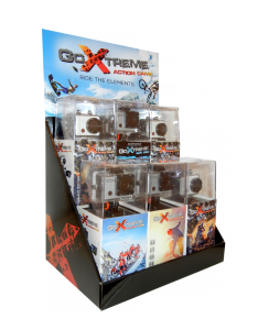 GoXtreme counter display