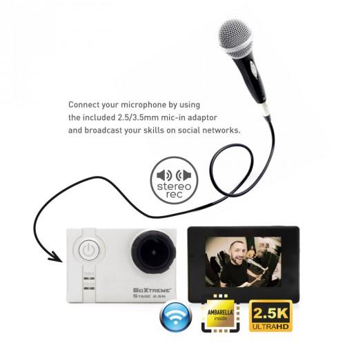 GoXtreme Stage 2.5K Stereo Cam