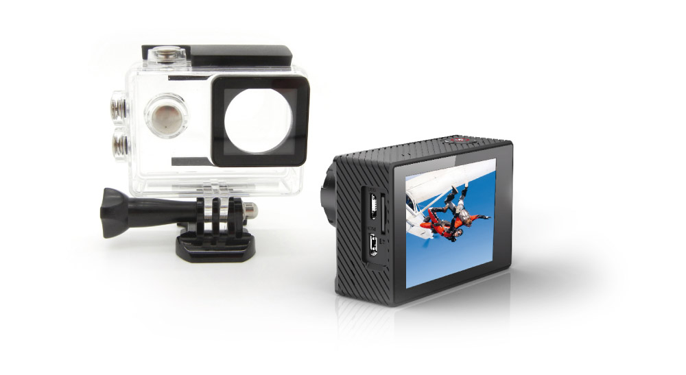 GoXtreme Display & Waterproof case