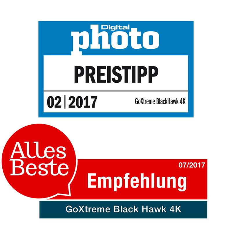 GoXtreme Black Hawk 4K Preistipp