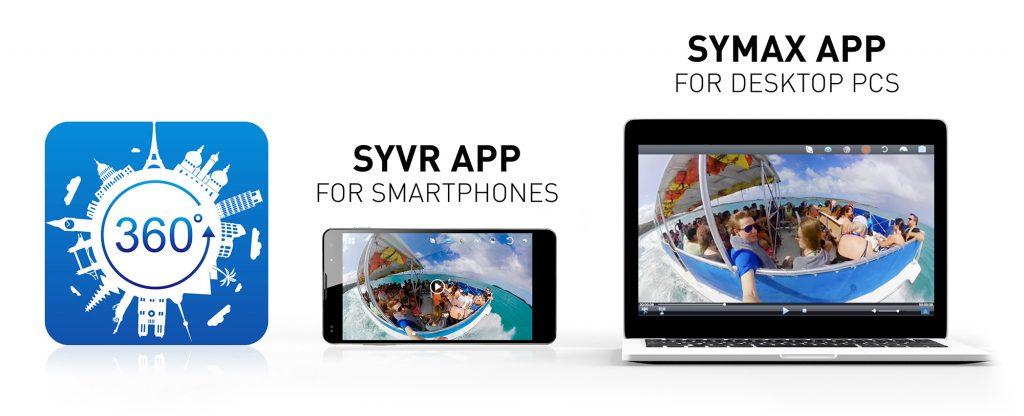 GoXtreme SYVR + SYMAX APP