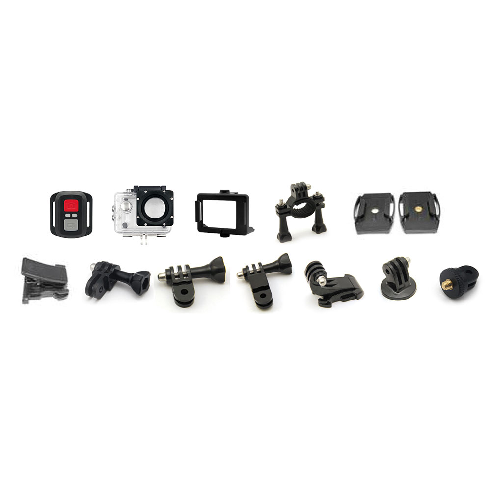 GoXtreme Enduro Black Accessories