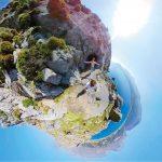 GoXtreme 360° Image Little Planet