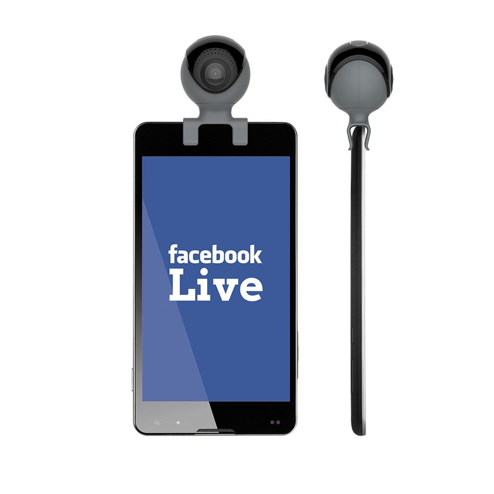 GoXtreme Omni 360° Facebook Live