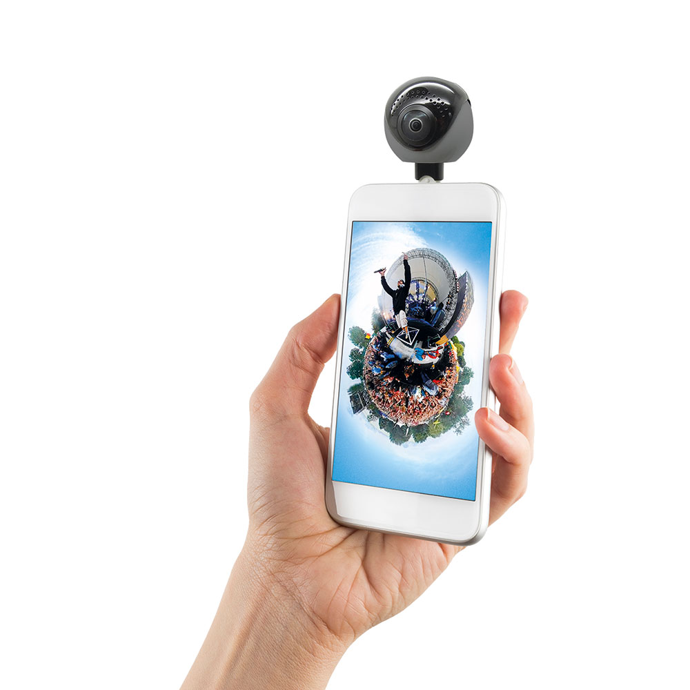 GoXtreme Omni 360° on Smartphone