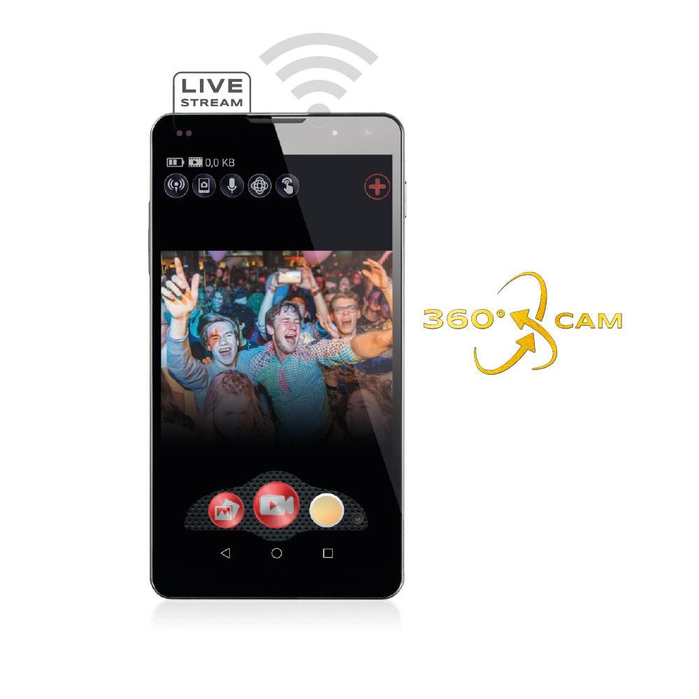 GoXtreme Live 360° Smartphone