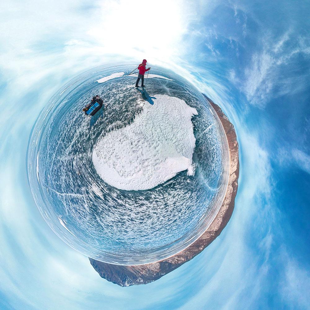 GoXtreme 360° Image