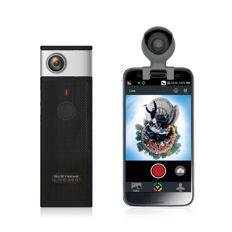 GoXtreme 360° Cams Live & Omni