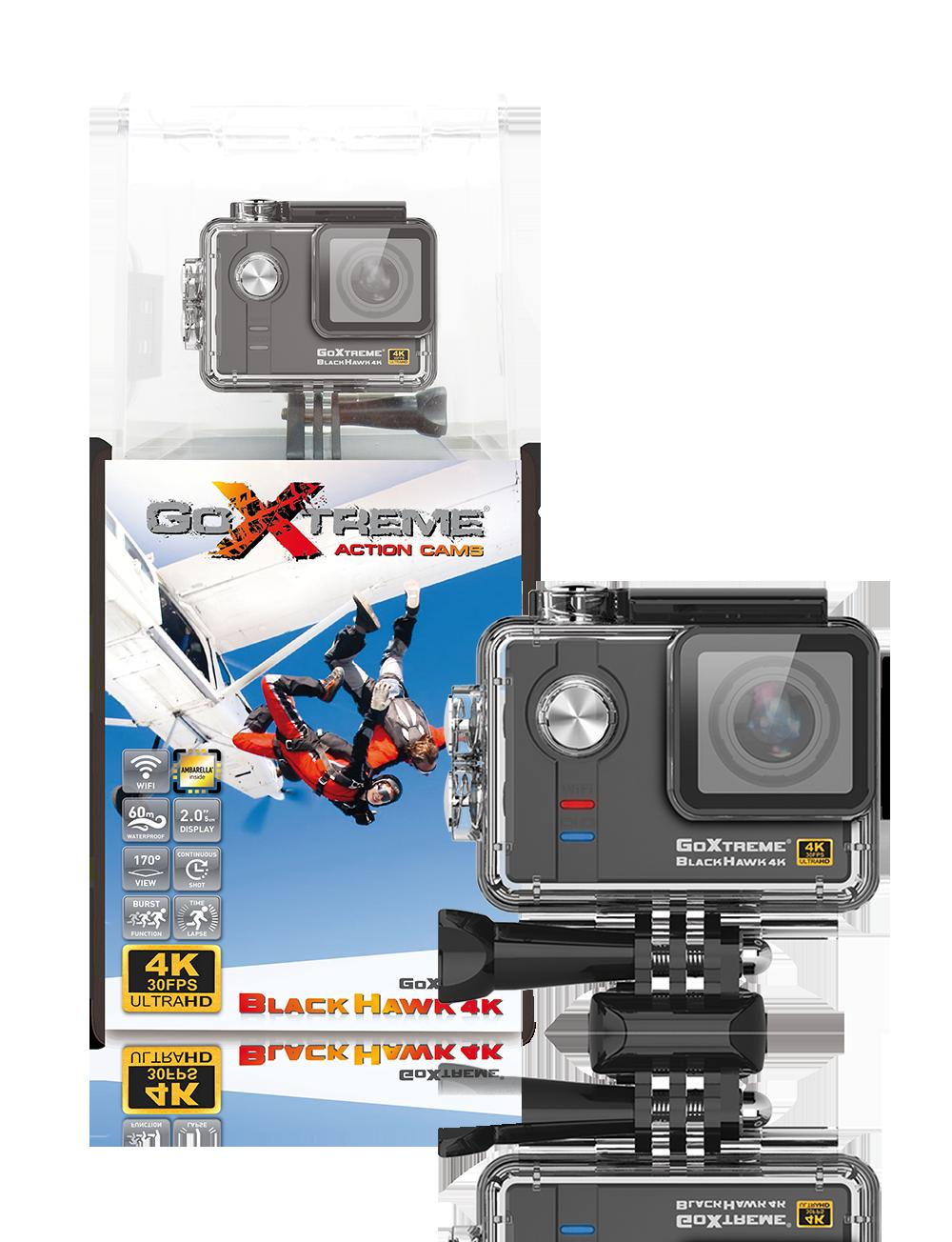 GoXtreme Black Hawk 4K with Box