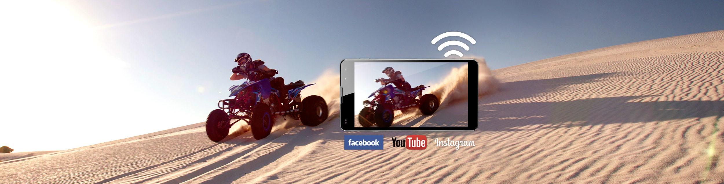 GoXtreme WiFi Social Media