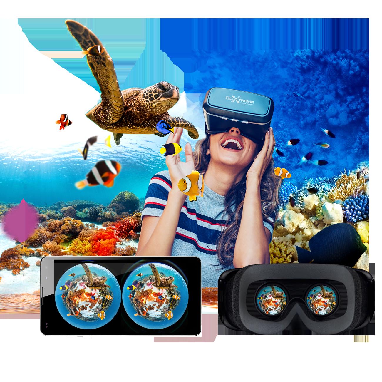 GoXtreme 360° World VR Glasses