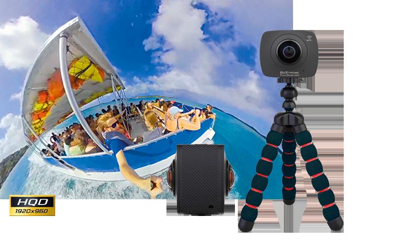 GoXtreme Full Dome 360° Image