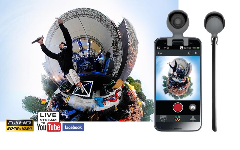 GoXtreme Omni 360° Smartphone Cam