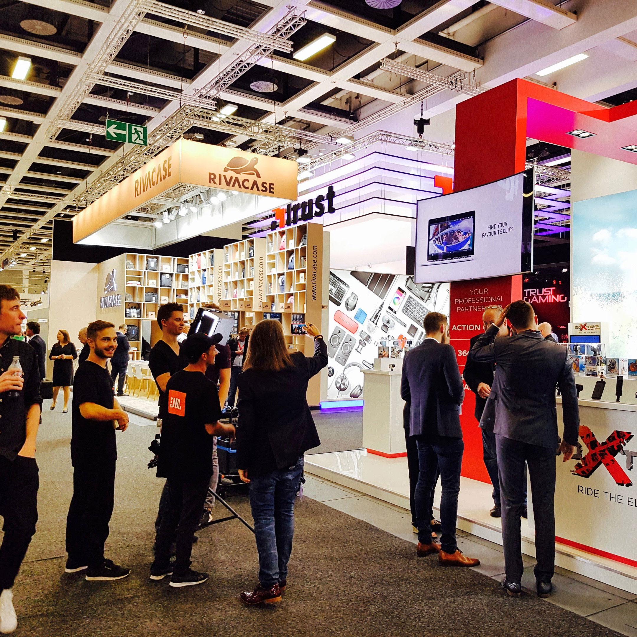 Goxtreme Action Cams Trade Fair Booth