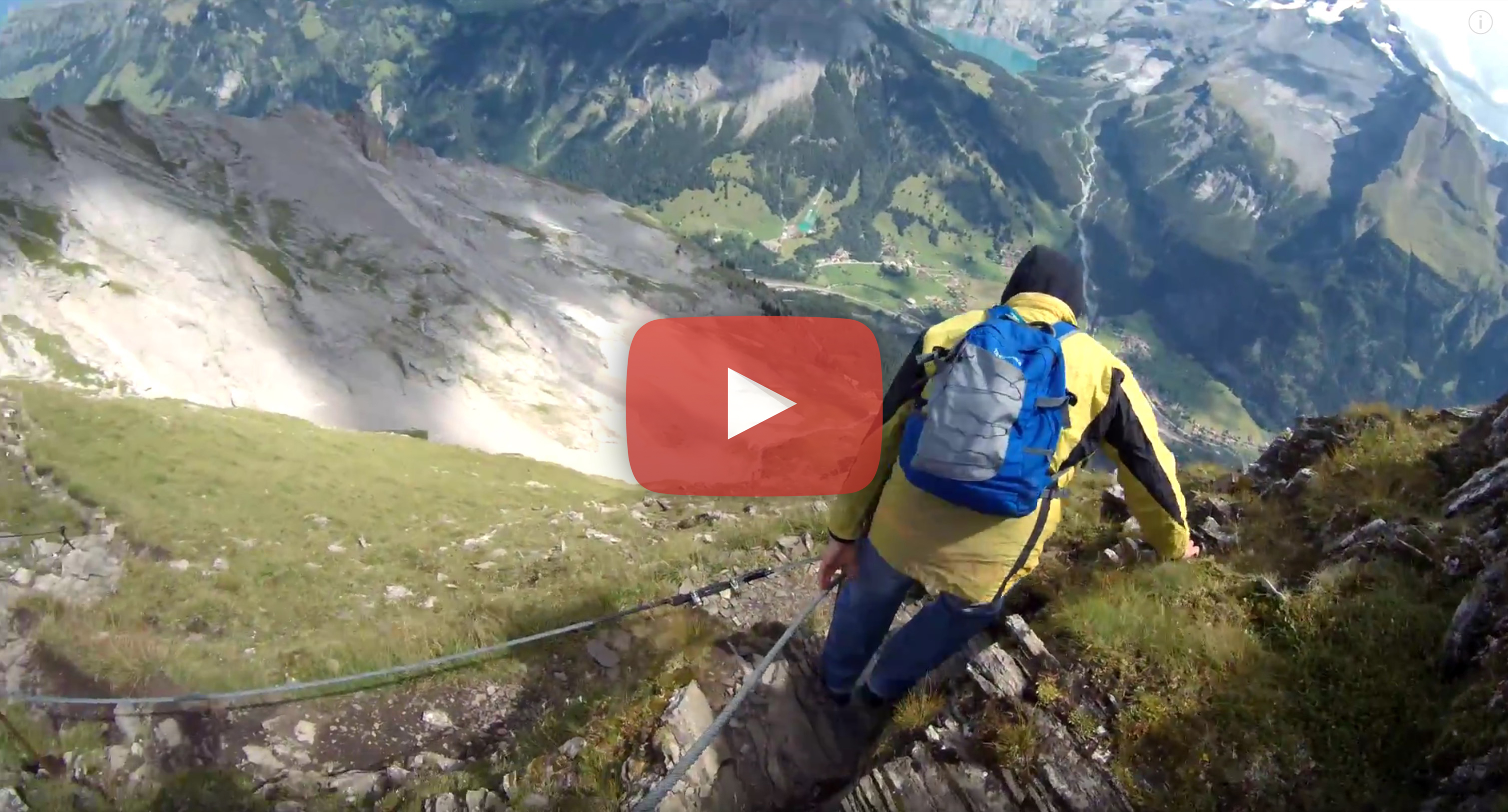With DJI Mavic Pro and Easypix BlackHawk 4k in the Swiss Alps