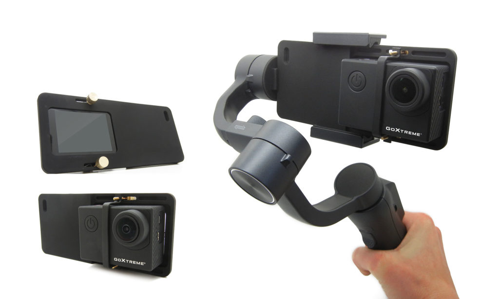 GoXtreme Dual Gimbal GX1 Action Cam Adapter