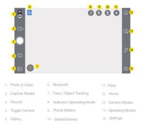 GoXtreme Dual Gimbal GX1 App