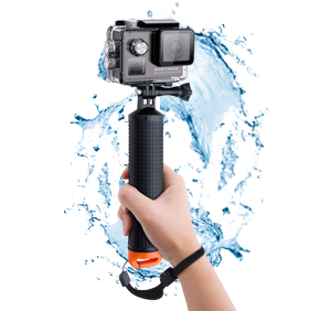Floating grip with screw cap