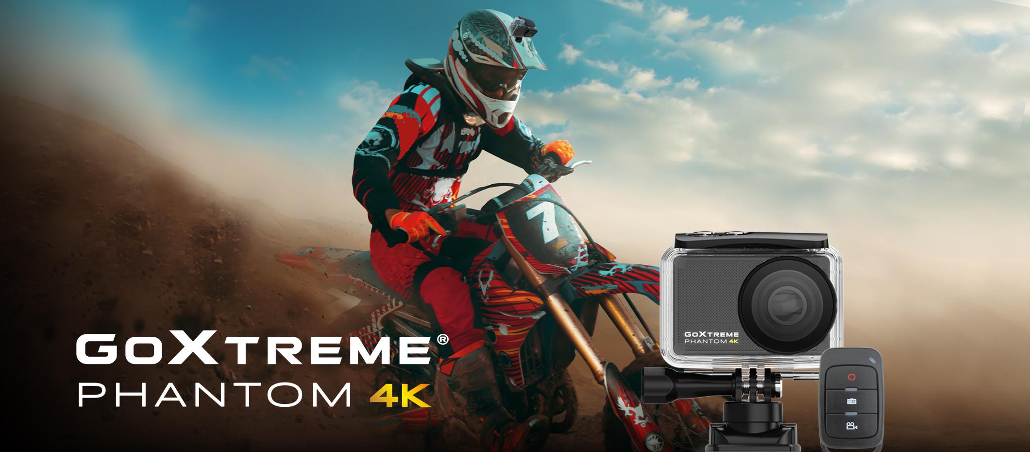 GoXtreme Phantom 4K Banner