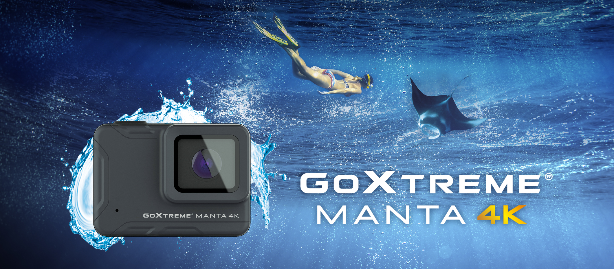 GoXtreme Manta 4K Banner