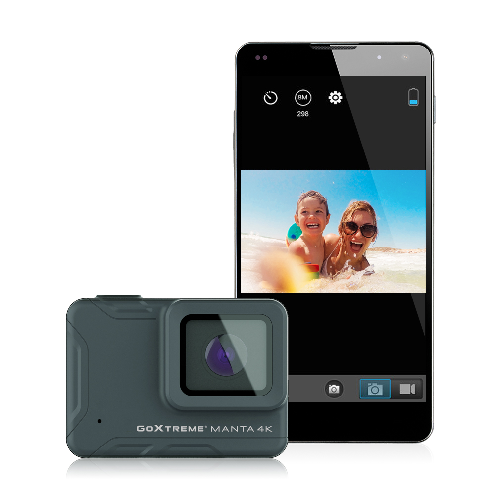 GoXtreme Manta 4K smartphone and camera