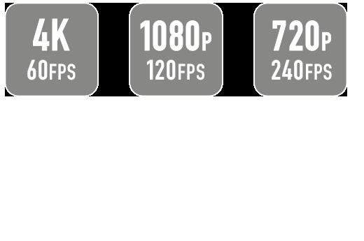 GoXtreme Black Hawk+ Resolution